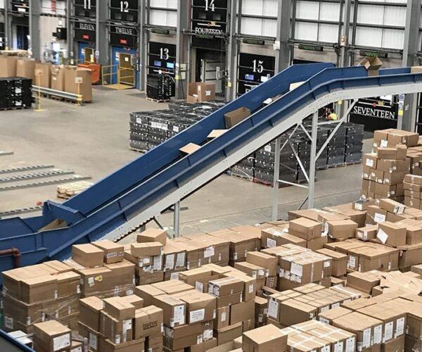 Waste conveyor - Banner