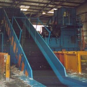 loading conveyor (looking up) conveyor