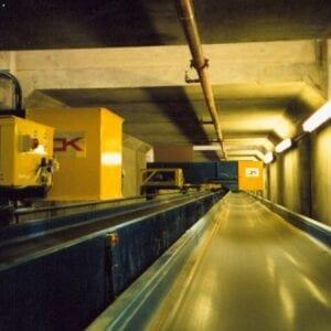 FCP shuttle conveyor feed
