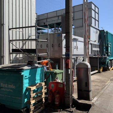 transfer station compactor